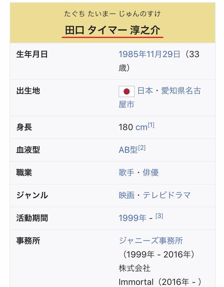 taguchi junosuke wiki
