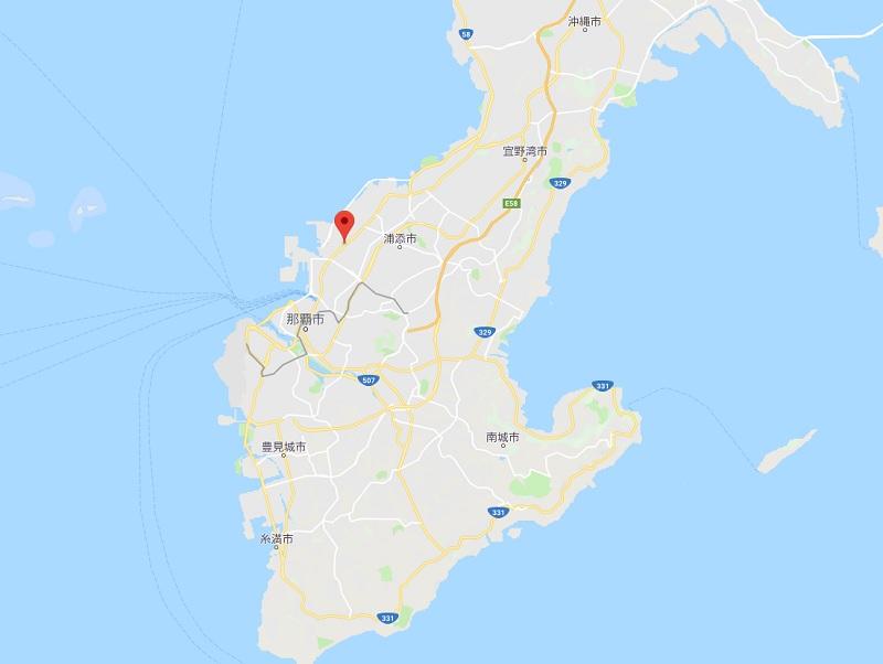 沖縄浦添市Yナンバーダンプ事故