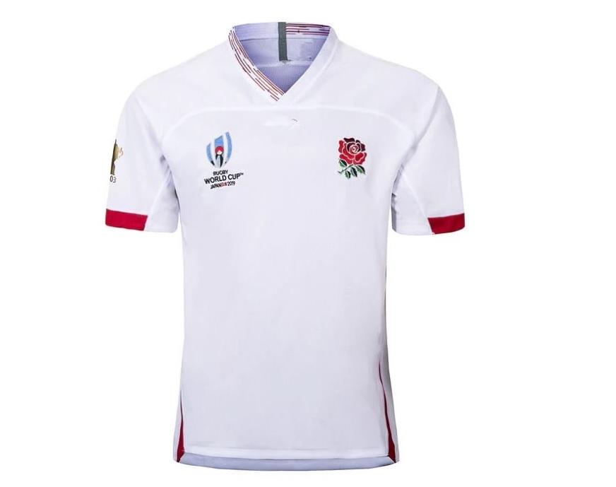 ラグビーイングランド代表 ユニフォーム エンブレム バラ