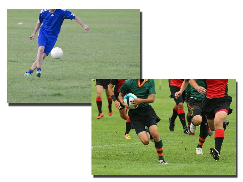 サッカーよりラグビーが面白い