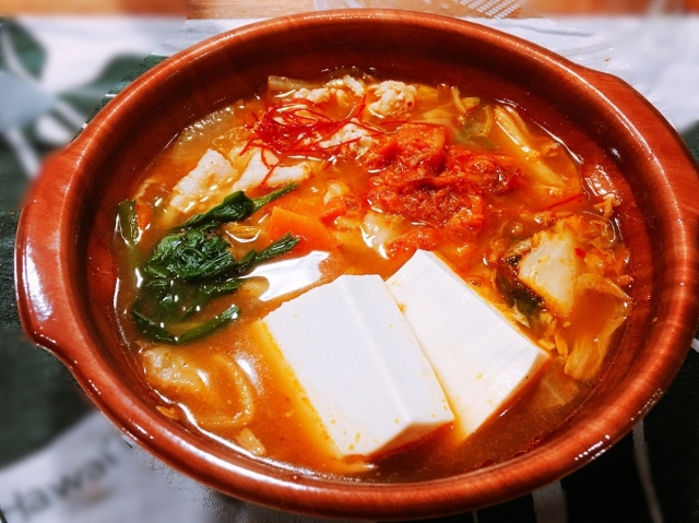 キムチ鍋 スープ 薄い