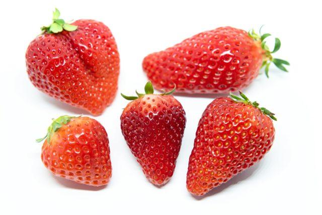 イチゴ 食べ頃 見分け方